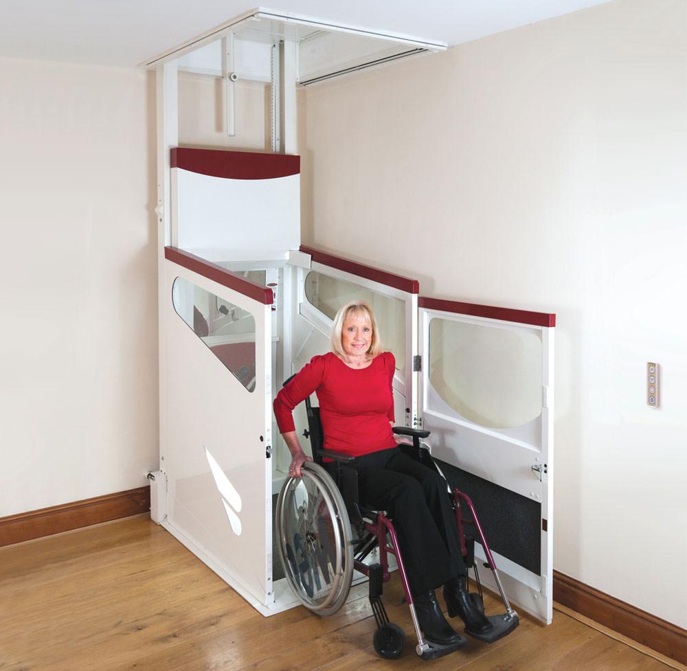 Terry Harmony Lift steht in der unteren Etage